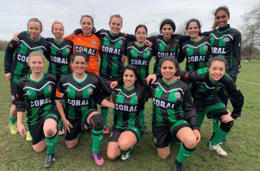 Time de Futebol Feminino em Londres